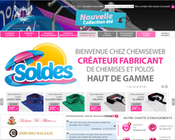 Code promo ChemiseWeb