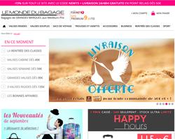 Codes Promo Le Monde Du Bagage
