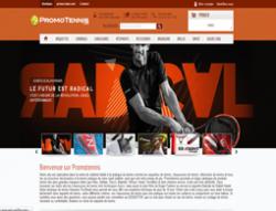 Codes Promo Promotennis.com