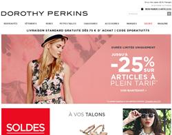Code Promo Dorothy Perkins